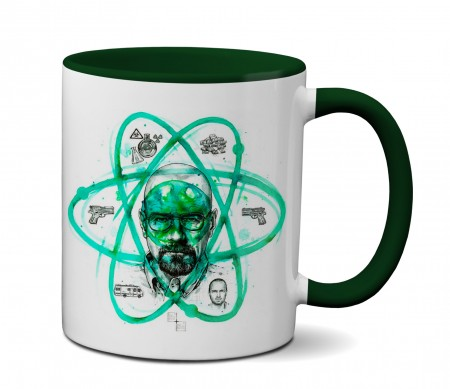 Caneca Breaking Bad - Heisenberg Partícula-Breaking Bad-