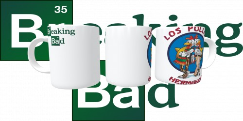 Caneca Breaking Bad - Los Pollos Hermanos-Breaking Bad-