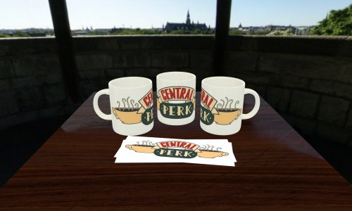 Caneca Central Perk-Friends-
