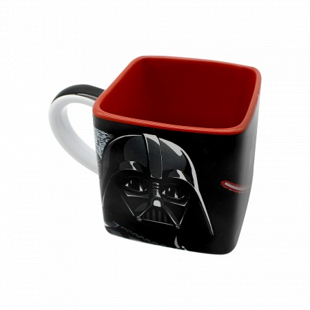 Caneca Cubo 300ml - Darth Vader - Star Wars-Star Wars-