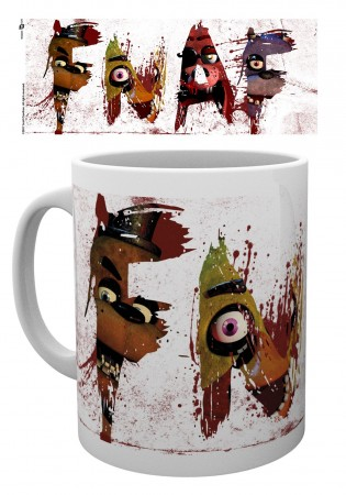 Caneca Five Nights Freddy-Five Nights At Freddy's-