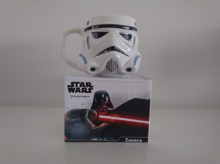 Caneca Formato 3d Stormtrooper Star Wars Galaxia 500ml - Zona Criativa-Star Wars-