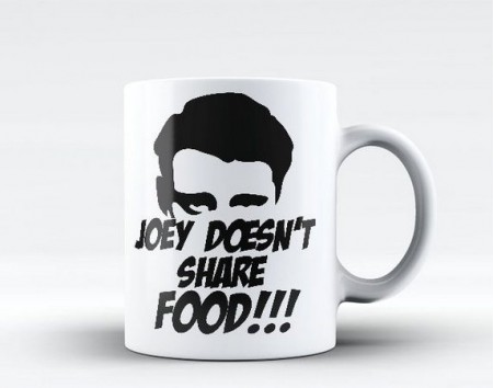 Caneca Friends Joey Tribbiani Doesn't Share Food-Friends-