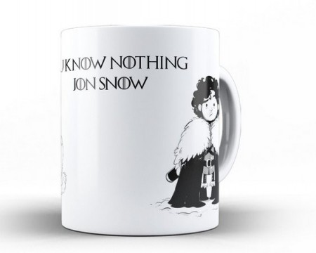 Caneca Game Of Thrones - Jon Snow-Game Of Thrones-
