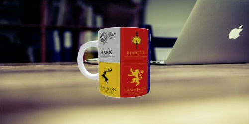 Caneca Game Of Thrones-Harry Potter-