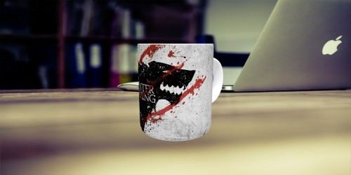 Caneca Game Of Thrones Stark-Harry Potter-