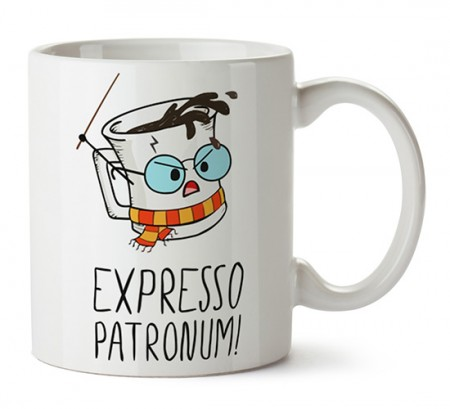 Caneca Harry Potter - Expresso Patronum-Harry Potter-