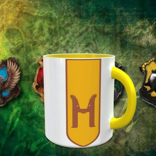 Caneca Harry Potter - Hufflepuff - Harry Potter - #