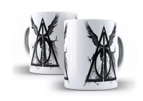 Caneca Harry Potter As Relíquias Da Morte-Harry Potter-