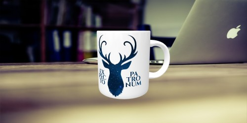 Caneca Harry Potter Patronum-Harry Potter-