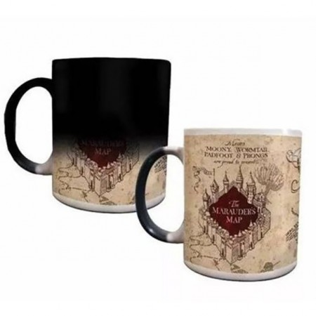 Caneca Mágica Harry Potter - Mapa Do Maroto-Harry Potter-