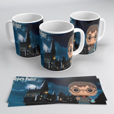Caneca Personalizada Harry Potter-Harry Potter-