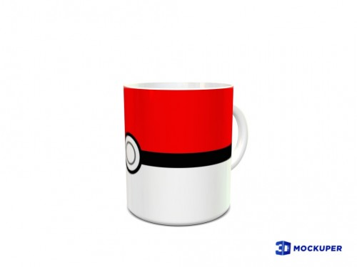 Caneca Pokebola-Pokemon-