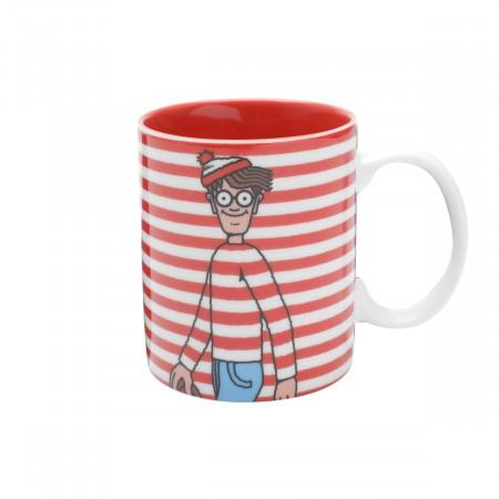 Caneca Porcelana Onde Está Wally - 300 Ml-wally-