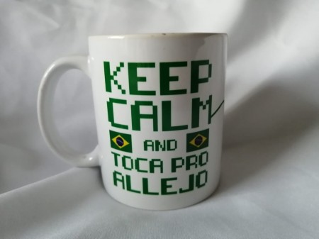 Caneca Keep Calm And Toca Pro Allejo-Games-