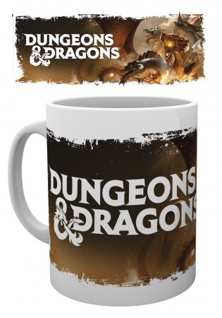 Caneca Dungeons Dragons-Dungeons & Dragons-