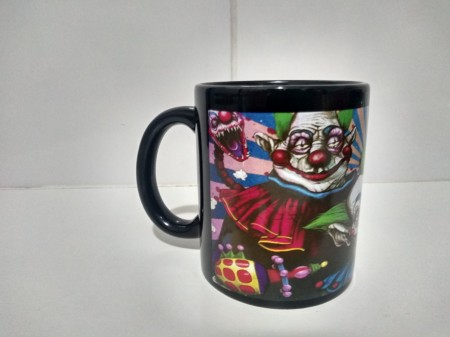 Caneca Filme Killer Klowns From Outer Space Lado B - Killer Klowns - #