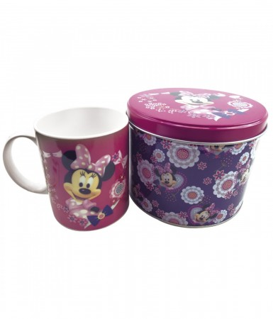 Caneca Na Lata Minnie-Disney-