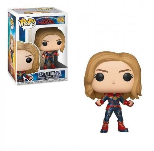 Funko Pop Capitã Marvel-Captain Marvel .-425