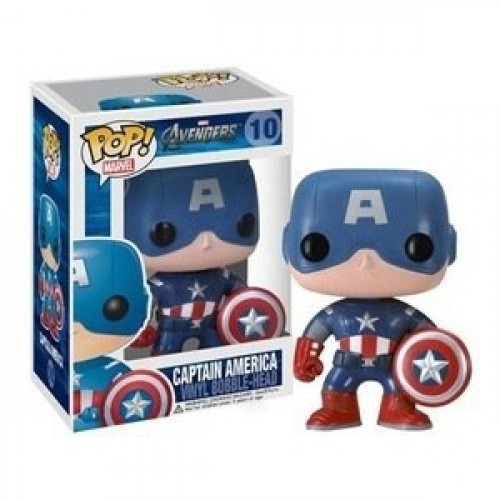 Funko Pop! Captain America-Marvel Studios-10