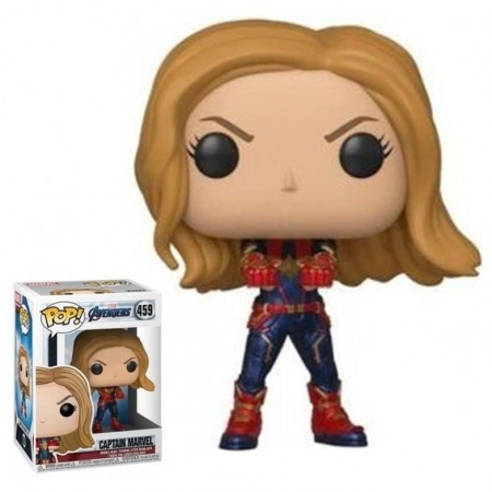 Funko Pop Captain Marvel (capitã Marvel)-Marvel Avengers Endgame-459