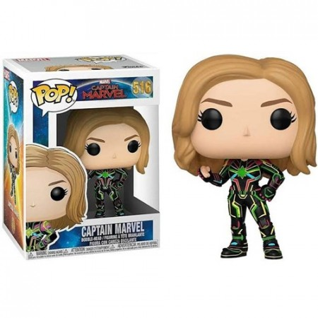 Funko Pop Captain Marvel-Captain Marvel .-516