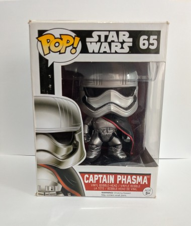 Funko Pop Captain Phasma-Stars Wars-65