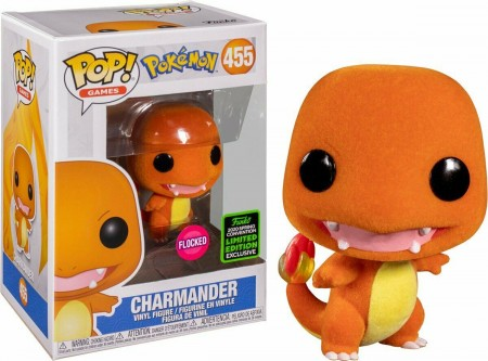 Charmander Flocked - Pokemon - Funko Pop! Exclusivo Eccc 2020-Pokemon-455