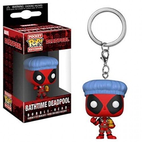 Chaveiro Deadpool Bathtime-Deadpool-