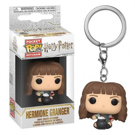 Chaveiro Funko Pockets Keychain Harry Potter- Hermione Granger  Caldeirão-Harry Potter-