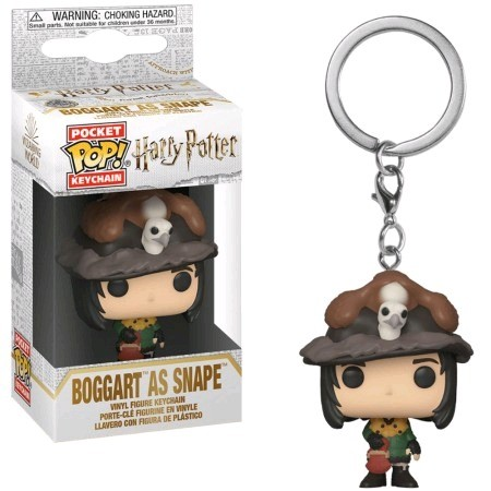 Chaveiro Funko Pockets Keychain Harry Potter- Snape As Borggart-Harry Potter-