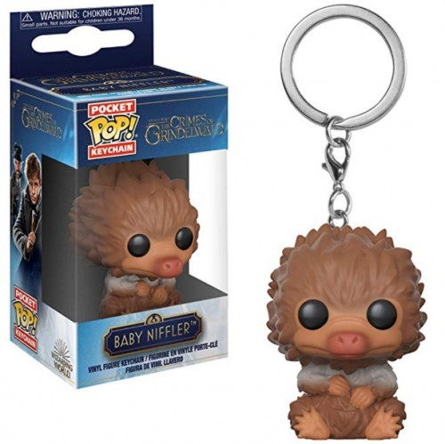Chaveiro Funko Pop! Baby Niffler (brown)-The Crimes Of Grindelwald-