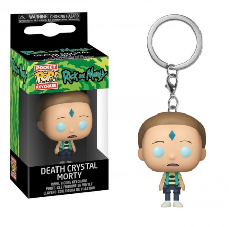 Chaveiro Funko Pop! Death Crystal Morty-Rick and Morty-