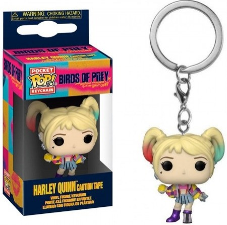 Chaveiro Funko Pop! Harley Quinn Caution Tape-Birds Of Prey-