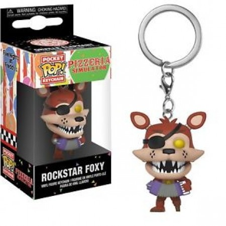Chaveiro Funko Pop! Rockstar Foxy - Five Nights At Freddy's - #