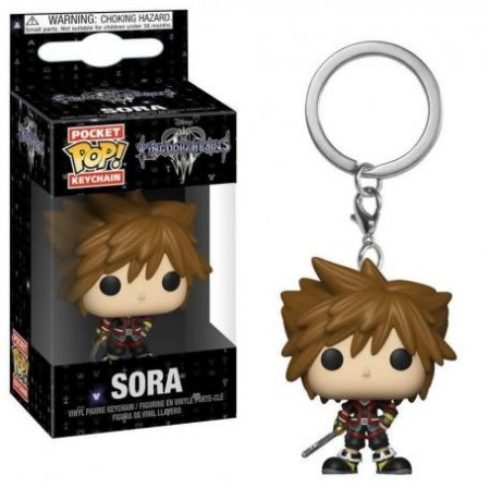 Chaveiro Funko Pop! Sora-Kingdown Hearts-