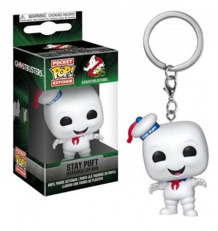 Chaveiro Funko Pop! Stay Puft-Ghostbusters-