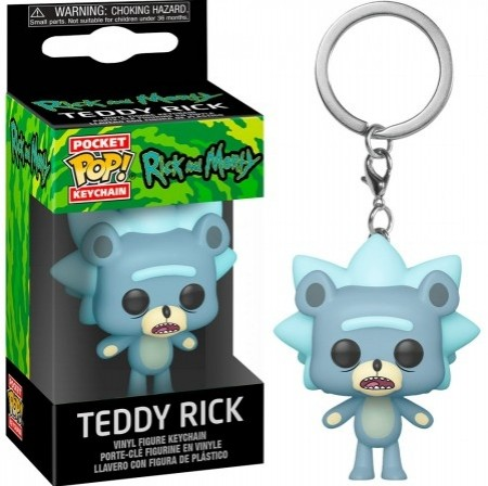 Chaveiro Funko Pop! Teddy Rick-Rick And Morty-