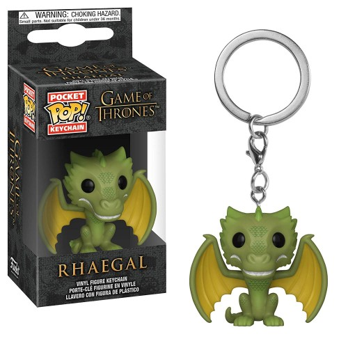 Chaveiro Funko Pop Keychain Rhaegal Game Of Thrones-Game of Thrones-