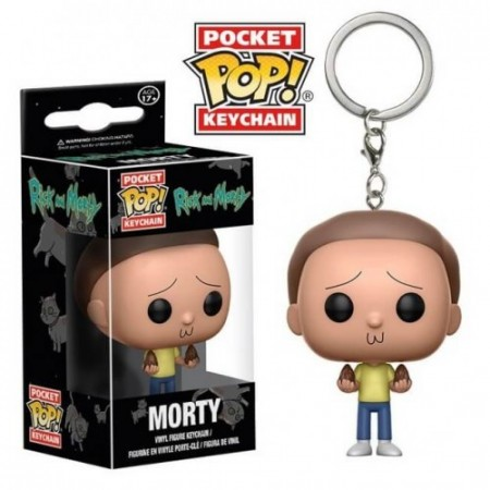 Chaveiro Funko Rick And Morty - Morty-Rick and Morty-