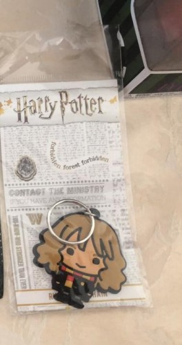 Chaveiro Hermione-Harry Potter-