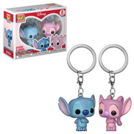Chaveiro Pop Stitch & Angel 2-pack - Lilo e Stitch - #