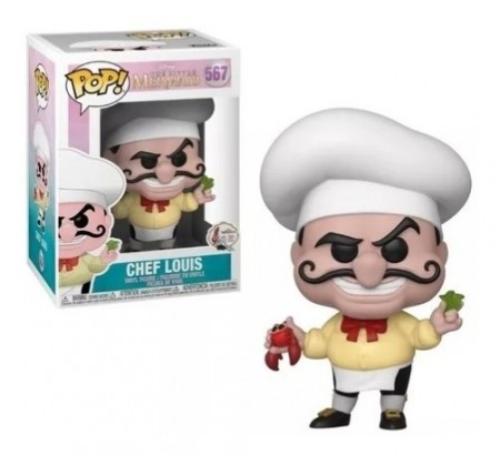 Funko Pop Chef Louis-The little Mermaid 30 years-567