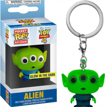 Chaveiro Alien Glow In The Dark-Toy Story 4-
