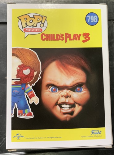 Chucky - Child's Play 3 - Funko Pop! Movies Exclusivo Walmart - Child's Play 3 - #798