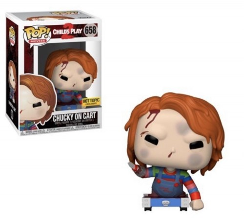 Chucky On Cart - Funko Pop! Hot Topic-Child's Play 2-658