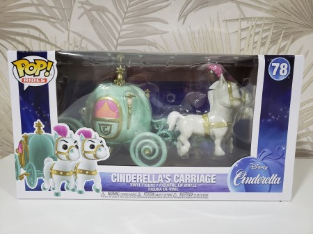 Funko Pop Cinderella's Carriage-Disney cinderela-78