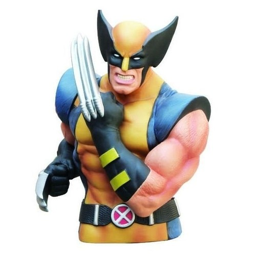 Cofre Busto Oficial Wolverine Action Figure-X-Men-