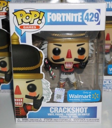 Crackshot - Funko Pop! Exclusivo Walmart-Fortnite-429