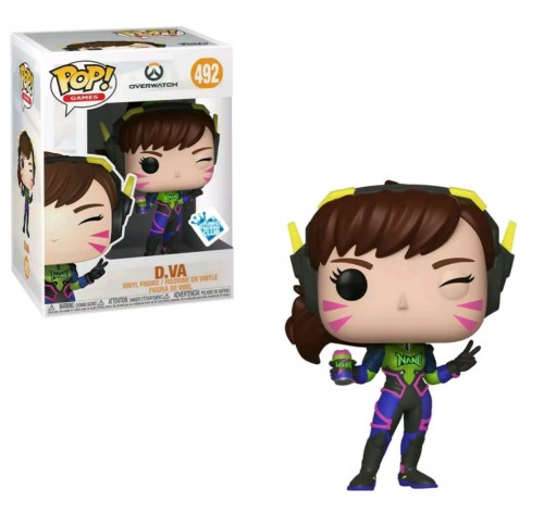 Funko Pop D.va Nano Cola(excl. Gamestop)-Overwatch-492